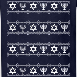hanukkah winter white Kids' Shirts - Kids' T-Shirt