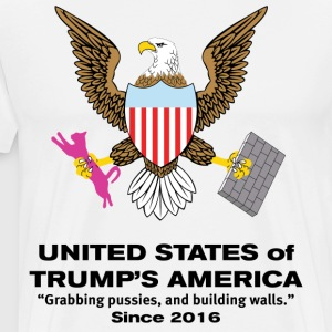 United States of Trump T-Shirts - Men's Premium T-Shirt