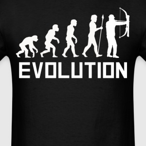 Bow Hunter Evolution Funny Hunting Shirt - Men's T-Shirt