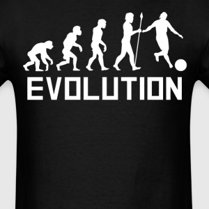 Kickball Player Evolution Funny Kickball Shirt - Men's T-Shirt