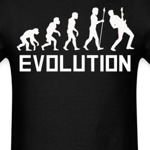 Rock Star Evolution Funny Guitar Shirt - Men's T-Shirt