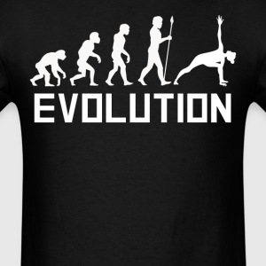 Pose Evolution Funny Yoga Shirt - Men's T-Shirt