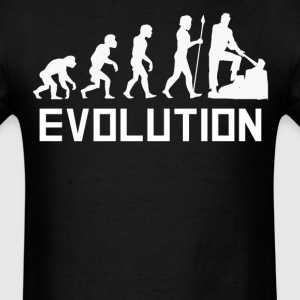 Lumberjack Evolution Funny Outdoorsman Shirt - Men's T-Shirt
