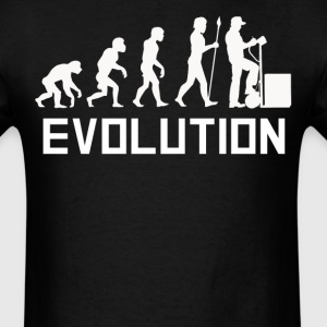 Delivery Man Evolution Delivery Driver Shirt - Men's T-Shirt