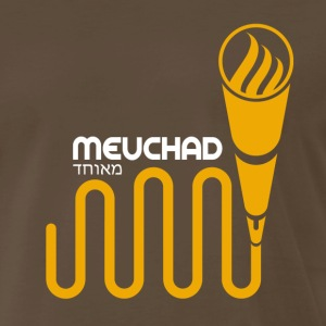 Mic Checka Gold T-Shirts - Men's Premium T-Shirt