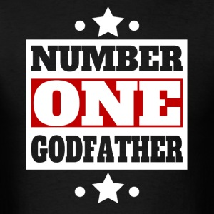 Number One Godfather Retro Style Family - Men's T-Shirt