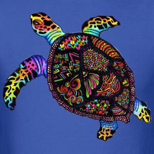 marine turtle - Men's T-Shirt