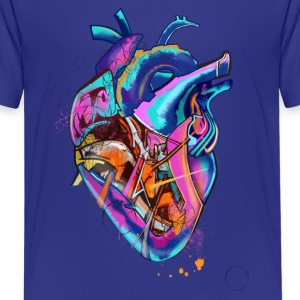 colored heart - Kids' Premium T-Shirt