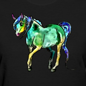 colored horse - Women's T-Shirt