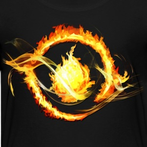 flames - Kids' Premium T-Shirt