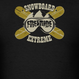 Snowboard freeride extreme - Men's T-Shirt
