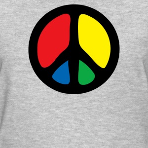 Peace In Colours - Women's T-Shirt