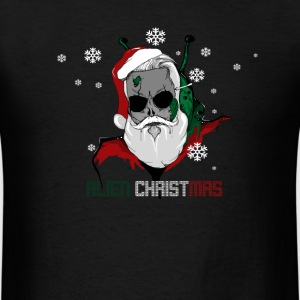 Alien Christmas - Men's T-Shirt