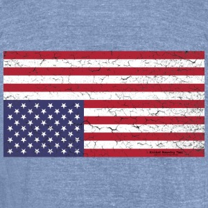 AMERICA:  Nation in Distress! T-Shirts - Unisex Tri-Blend T-Shirt by American Apparel