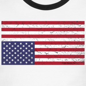 AMERICA:  Nation in Distress! T-Shirts - Men's Ringer T-Shirt