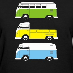 CAMPER BUS PICK UP VAN - Women's T-Shirt
