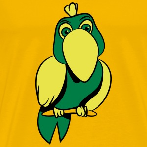 Parrot witty comic T-Shirts - Men's Premium T-Shirt