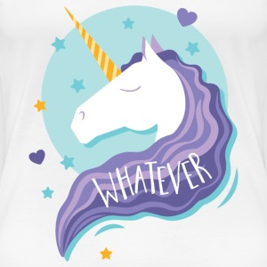 Unicorn - Whatever! T-Shirts - Women's Premium T-Shirt