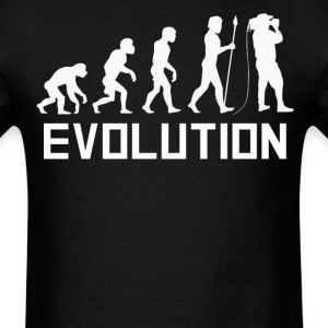 Cameraman Evolution Funny Cameraman Shirt - Men's T-Shirt