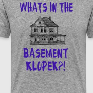 The Burbs - Whats In The Basement Klopek?! T-Shirts - Men's Premium T-Shirt