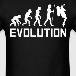 Trumpet Player Evolution Funny Music Shirt - Men's T-Shirt
