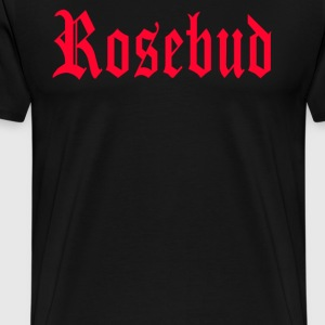 Citizen Kane - Rosebud T-Shirts - Men's Premium T-Shirt