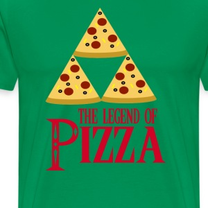 The Legend Of Pizza T-Shirts - Men's Premium T-Shirt