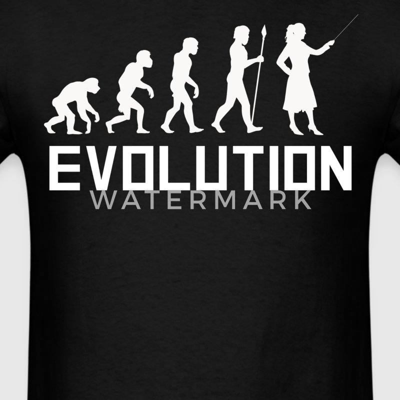 Teacher Evolution Funny Teaching Shirt - Men's T-Shirt