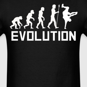Breakdancer Evolution Funny Breakdancing Shirt - Men's T-Shirt