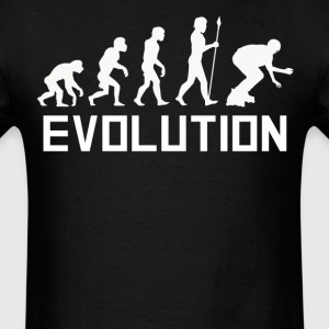 Inline Skater Evolution Extreme Sports Shirt - Men's T-Shirt