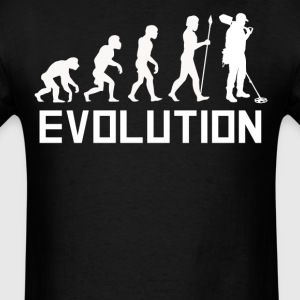 Metal Detecting Evolution Metal Detector Shirt - Men's T-Shirt