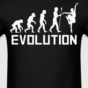 Ballerina Evolution Funny Dancer Shirt - Men's T-Shirt