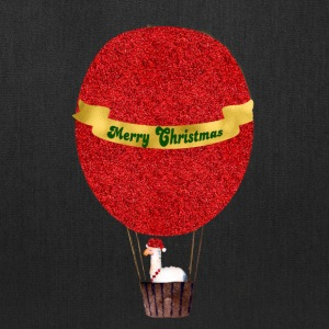 merry_christmas_luftballon_lama_spreadsh Bags & backpacks - Tote Bag