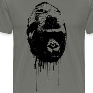 Harambe Graffiti Gorilla - Men's Premium T-Shirt
