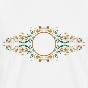 wedding vintage monogram - Men's Premium T-Shirt