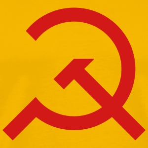 Hammer & Sickle Design - Men's Premium T-Shirt