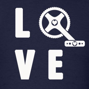 Love Cycling - Men's T-Shirt