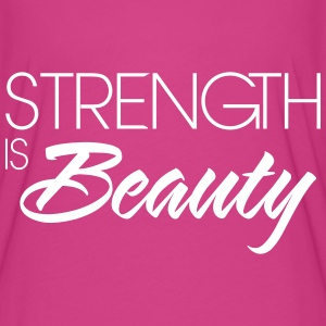 Strength is beauty T-Shirts - Women's Flowy T-Shirt