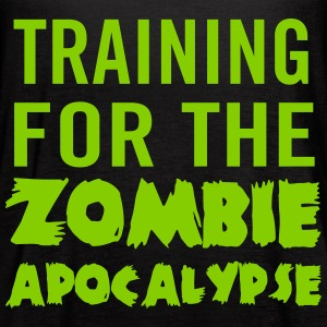 Training for the zombie apocalypse Tanks - Women's Flowy Tank Top by Bella
