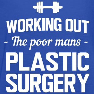 Working out. The poor mans plastic surgery Tanks - Women's Flowy Tank Top by Bella