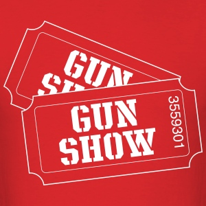 Gun show tickets T-Shirts - Men's T-Shirt