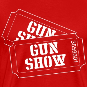 Gun show tickets T-Shirts - Men's Premium T-Shirt