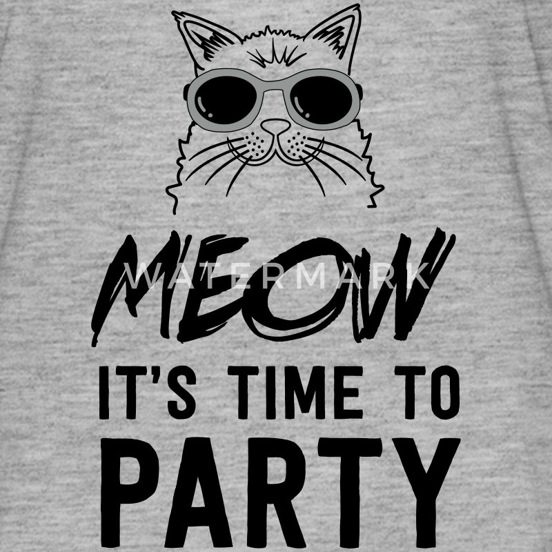 Meow it's time to party T-Shirts - Women's Flowy T-Shirt