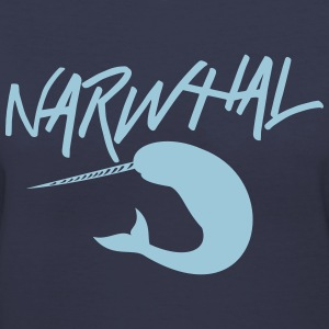 Narwhal T-Shirts - Women's V-Neck T-Shirt