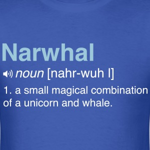 Narwhal. Combo of Unicorn and Whale T-Shirts - Men's T-Shirt