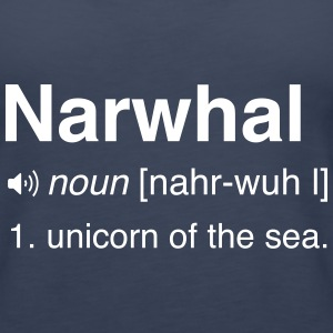 Narwhal. Unicorn of the sea Tanks - Women's Premium Tank Top