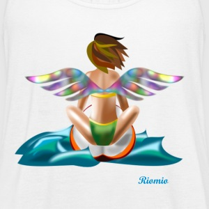 Surfing Angel 2 - Women's Flowy Tank Top by Bella