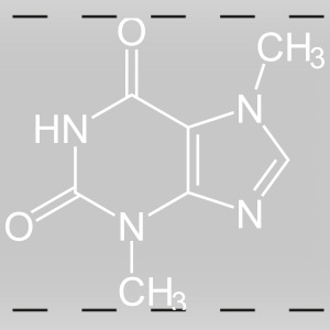 Theobromine (Chocolate) Molecule