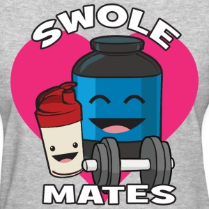 Swolemates (Protein Shake) T-Shirts - Women's T-Shirt