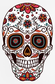 crmn sugar skull day of the dead 7 mouse pad vertical rocks clipart image transparent rocks clipart image transparent